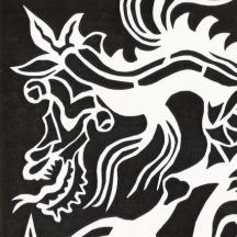 Papercut: Two-Headed Dragon